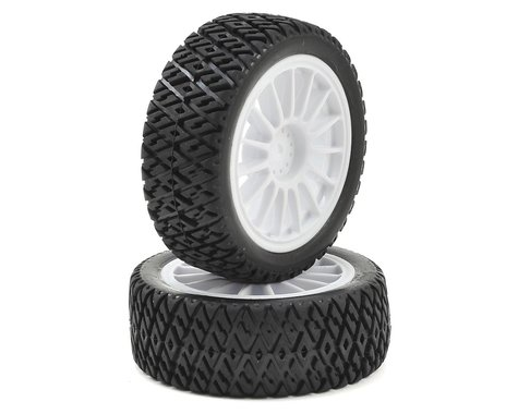 Losi Mini Rally Pre-Mounted Gravel Spec Tire (2)