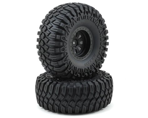 "Losi Maxxis Creepy Crawler LT 2.2"" Pre-Mounted Tire & Wheel"