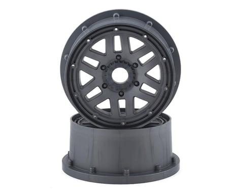 Losi 5IVE-T 1/5 Short Course Truck Beadlock Wheels (Grey) (2)