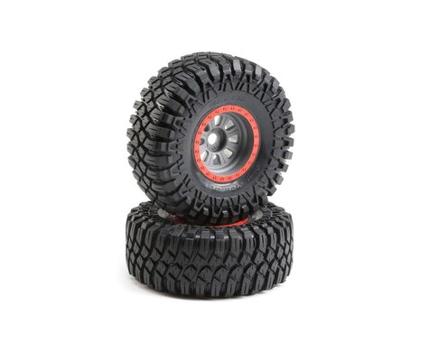 Losi 1/6 Maxxis Creepy Crawler Pre-Mounted Tires w/ 20mm Hex (2)