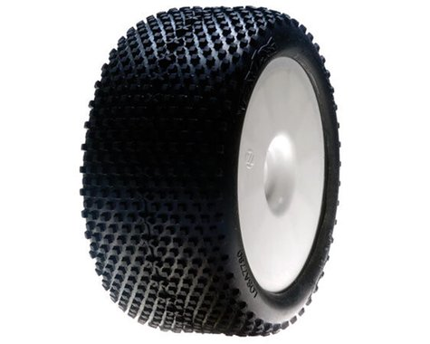 Losi XXT Pre-Mounted 1/8 Truggy Tires (2) (White) (Blue)