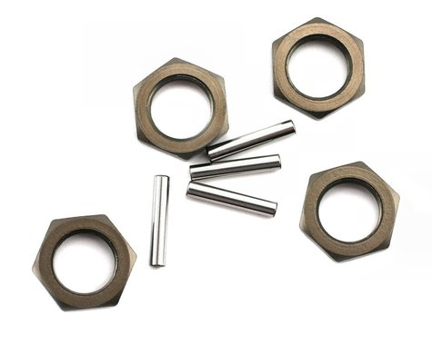 Losi Wheel Nut and Pin Hard Anodized 8IGHT (4) LOSA3531