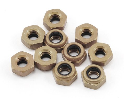 Losi 4-40 Aluminum Mini Nuts (10)