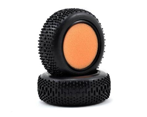 Losi Front Mini King Pin Tire w/Foam (2) (Mini 8IGHT)