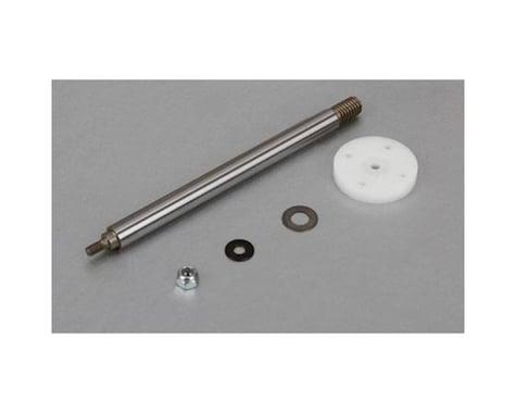 Losi Nutted Shock Shaft & Piston Kit, Rear: 5T
