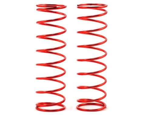 Losi Rear Shock Spring Set (Red - 9.3lb) (2)