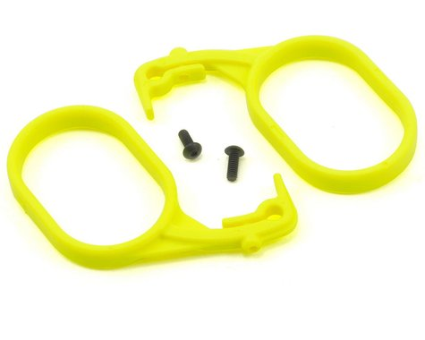 Losi Fuel Tank Lid Pull Set (Fluorescent Yellow) (2)