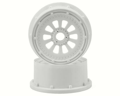 Losi 5IVE-T Wheel Set w/Beadlocks (2) (White)