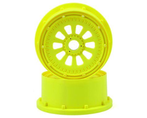 Losi 5IVE-T Wheel Set w/Beadlocks (2) (Yellow)