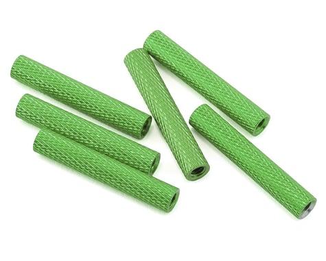 Lumenier 28mm Aluminum Textured Spacers (6) (Green)