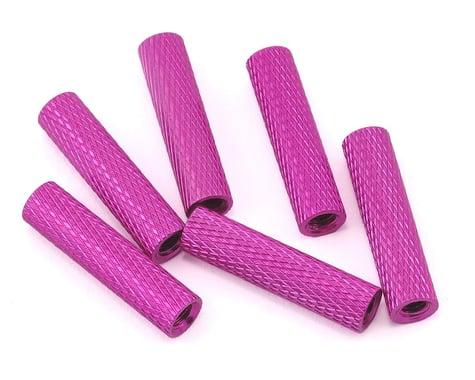 Lumenier 20mm Aluminum Textured Spacers (6) (Purple)