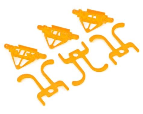 Lynx Heli TinyFPV Camera Mount w/Roll Bar (7/15/20 Degree Tilt) (Orange)