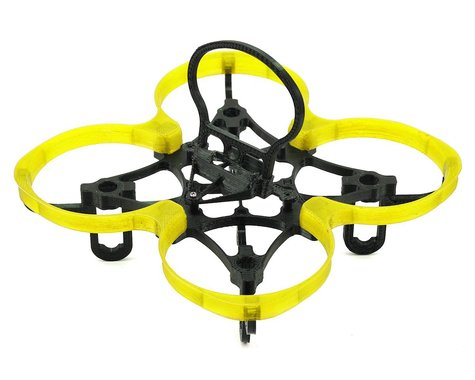 Lynx Heli Spider 73 FPV Racing Inductrix Frame Kit (Clear Yellow Shroud)