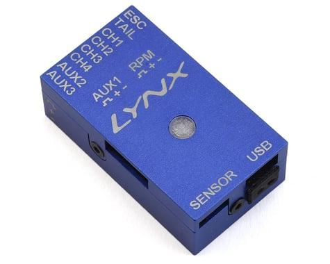 Lynx Heli Aluminum Vbar NEO Case (REV-B) (BLUE)