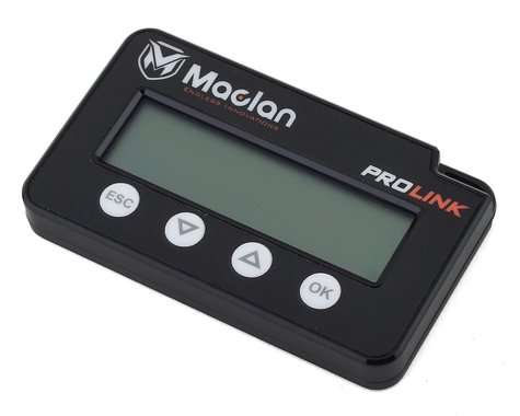 Maclan Prolink ESC Programing Card