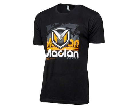 Maclan 2020 Team Racing T-Shirt (Black) (M)