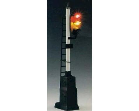 Model Power HO Block Signal, 3 Light w/Relay Box