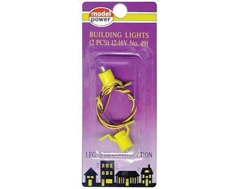 Model Power Building Light Set (2) HO