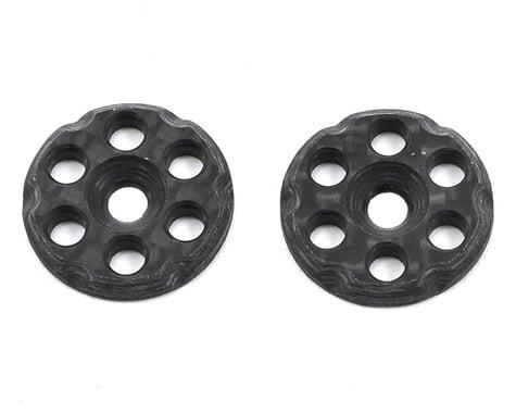 Mckune Design 6 Hole Carbon Fiber Wing Buttons (2)