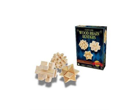 Merchant Ambassadors Classic Games Wood Brain Bend