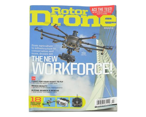 Rotor Drone Magazine - July/August 2017