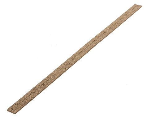 """Midwest 36"""" HO-Scale Cork Roadbed Strip (25)"""