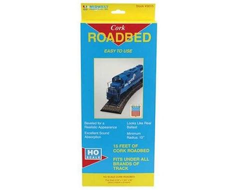 Midwest HO Cork Roadbed Strips (5)
