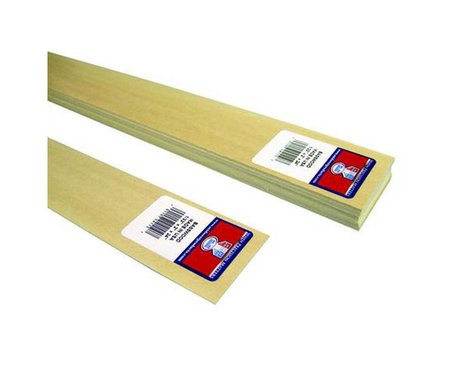 Midwest Basswood Sheets 1/32x2x24 (15)