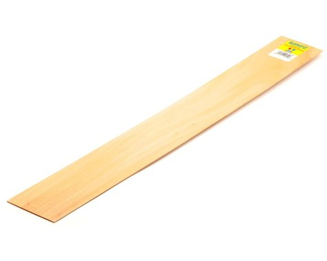 "Midwest 1/16 x 3 x 24"" Basswood Strip"