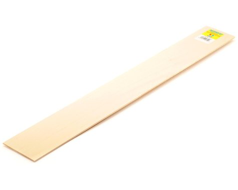 """Midwest Basswood Strips 1/8 x 3 x 24"""" (15)"""