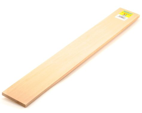 "Midwest Basswood Strips 3/8 x 3 x 24"" (5)"