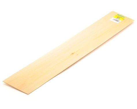 """Midwest Basswood Strips 1/16 x 4 x 24"""""""