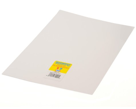 "Midwest Clear PVC .015 x 7.6 x 11"" (4)"