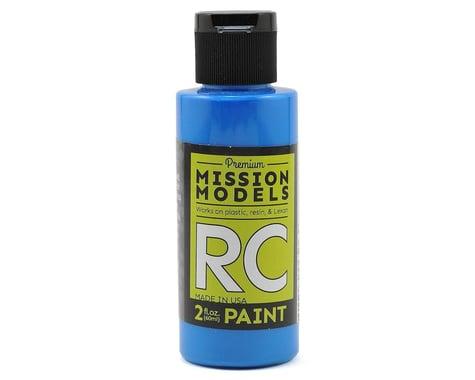 Mission Models Fluorescent Racing Blue Acrylic Lexan Body Paint (2oz)