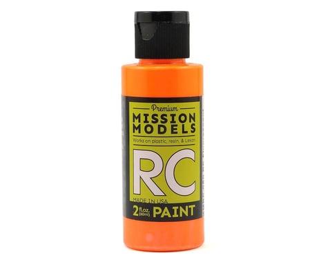 Mission Models Fluorescent Racing Bright Orange Acrylic Lexan Body Paint (2oz)