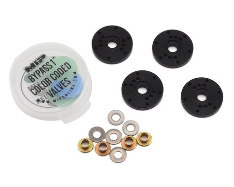 MIP Mugen 16mm 6 Hole Bypass1 Piston Set (4)