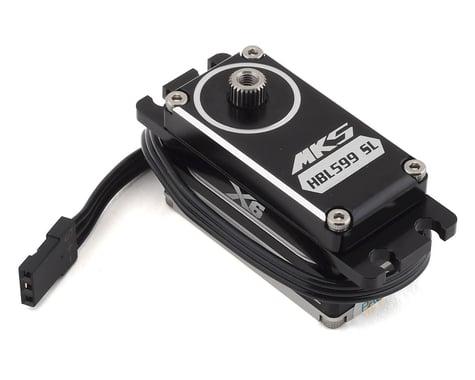 MKS Servos X6 HBL599SL Brushless Titanium Gear Low Profile Digital Servo (High Voltage)