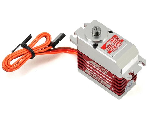 MKS Servos HBL990 Brushless Titanium Gear High Speed Digital Tail Servo (High Voltage)