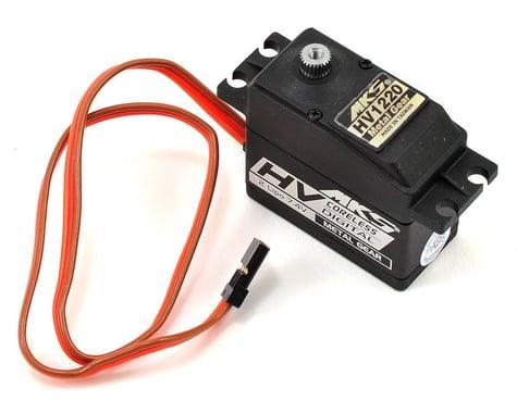 MKS Servos HV1220 Titanium Gear Ultra High Torque Standard Digital Servo (High Voltage)