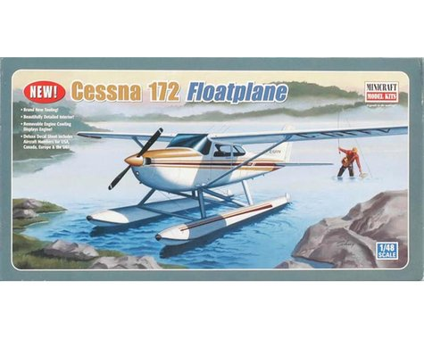 Minicraft Models 11634 1/48 Cessna 172 w/Pontoon