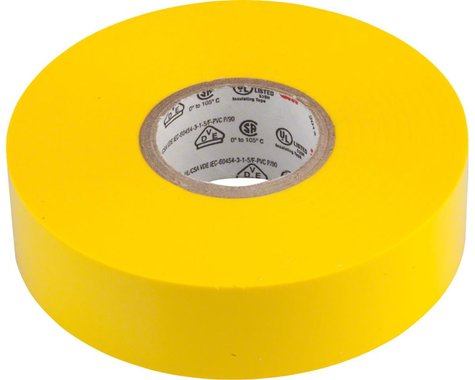 "3M Scotch Electrical Tape #35 (Yellow) (3/4"" x 66')"