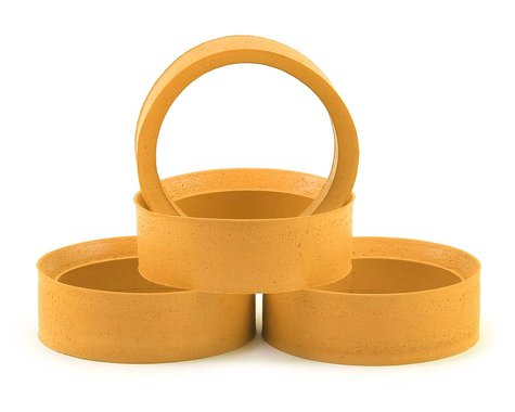 Muchmore Absolute HG Molded Tire Inserts (Yellow) (4) (Soft)