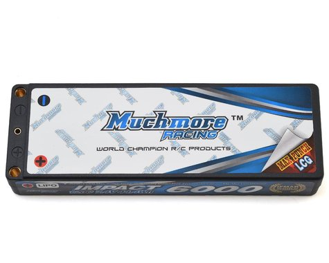 Muchmore Impact 2S LCG LiPo Battery Pack w/4mm Bullets (7.4V/6000mAh)