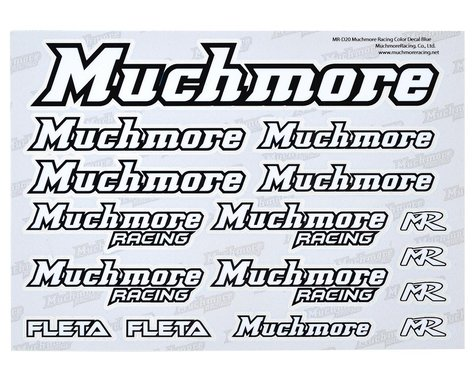 Muchmore Decal Sheet (White)