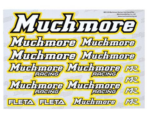 Muchmore Decal Sheet (Yellow)