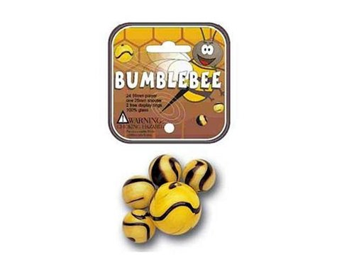 Mega Marbles  Bumblebee Game Net 24 + 1
