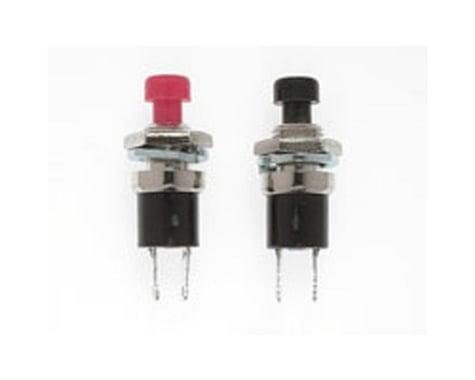 "Miniatronics SPST Momentary Switch, N/O 1/4"" (2)"