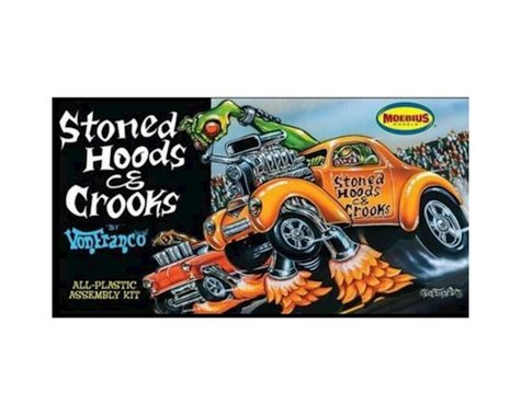 Moebius Model 1/25 Stoned Hoods & Crooks By Von Franco