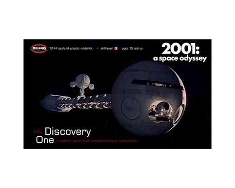 Moebius Model 1/144 Scale 2001: A Space Odyssey Discovery XD-1 Model Kit