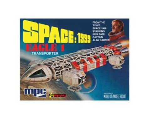 Round 2 MPC 1:72 SPACE 1999 EAGLE ONE